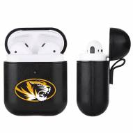 Missouri Tigers Fan Brander Apple Air Pods Leather Case