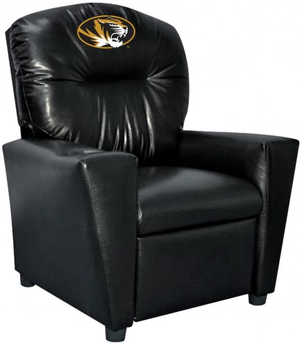 Missouri Tigers Faux Leather Kid's Recliner
