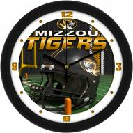 Missouri Tigers Football Helmet Wall Clock