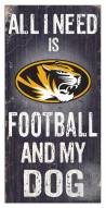 Missouri Tigers Football & My Dog Sign