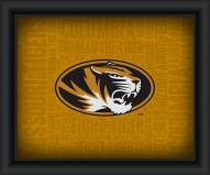 Missouri Tigers Framed Word Cloud