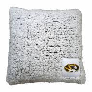 Missouri Tigers Frosty Throw Pillow