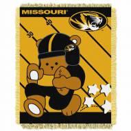 Missouri Tigers Fullback Baby Blanket