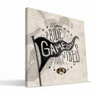 Missouri Tigers Gameday Vibes Canvas Print