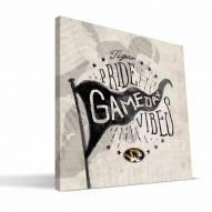 Missouri Tigers Gameday Vibes Canvas Print