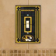 Missouri Tigers Glass Single Light Switch Plate Cover
