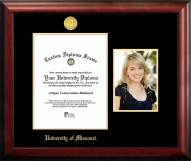 Missouri Tigers Gold Embossed Diploma Frame with Portrait