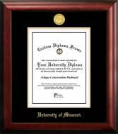 Missouri Tigers Gold Embossed Diploma Frame