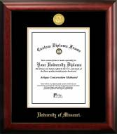 Missouri Tigers Gold Embossed Diploma Frame