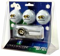 Missouri Tigers Golf Ball Gift Pack with Kool Tool