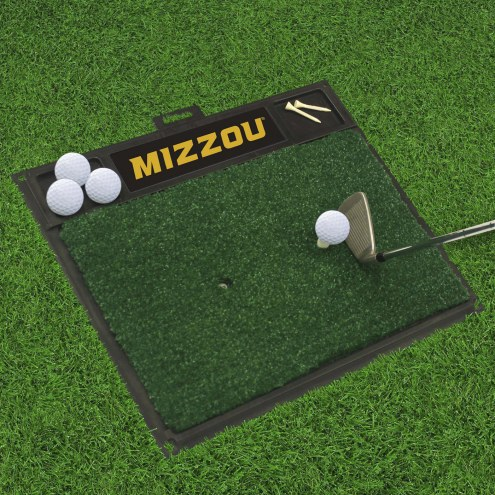 Missouri Tigers Golf Hitting Mat