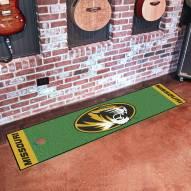 Missouri Tigers Golf Putting Green Mat