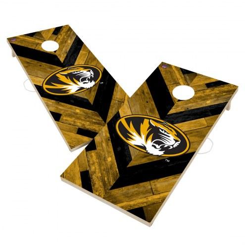 Missouri Tigers Herringbone Cornhole Game Set