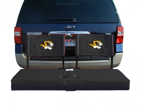 Missouri Tigers Tailgate Hitch Seat/Cargo Carrier