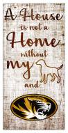 Missouri Tigers House is Not a Home Sign