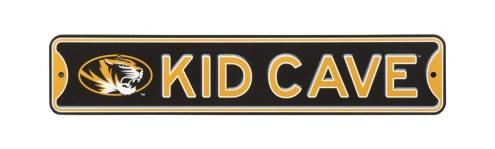 Missouri Tigers Kid Cave Street Sign
