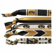 Missouri Tigers Knotted Hair Tie