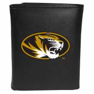 Missouri Tigers Large Logo Leather Tri-fold Wallet
