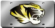 Missouri Tigers Laser Cut License Plate