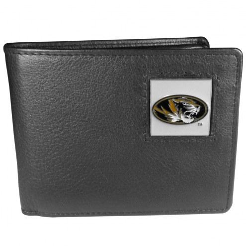 Missouri Tigers Leather Bi-fold Wallet in Gift Box