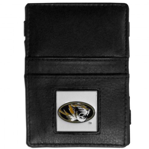 Missouri Tigers Leather Jacob's Ladder Wallet