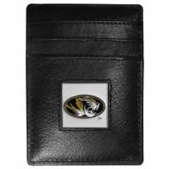 Missouri Tigers Leather Money Clip/Cardholder in Gift Box