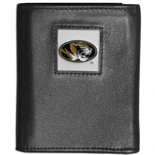Missouri Tigers Leather Tri-fold Wallet