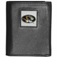 Missouri Tigers Leather Tri-fold Wallet
