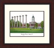 Missouri Tigers Legacy Alumnus Framed Lithograph