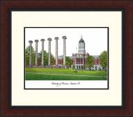Missouri Tigers Legacy Alumnus Framed Lithograph