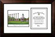Missouri Tigers Legacy Scholar Diploma Frame