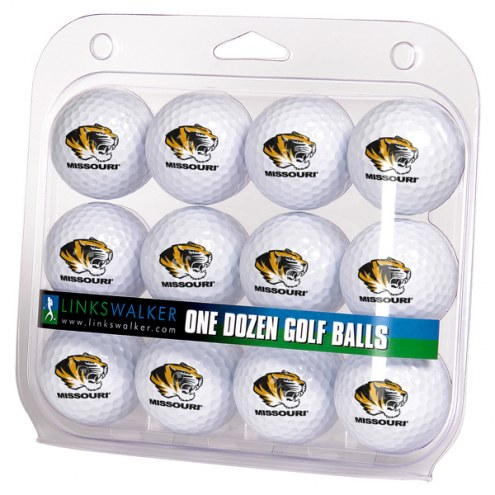 Missouri Tigers Dozen Golf Balls