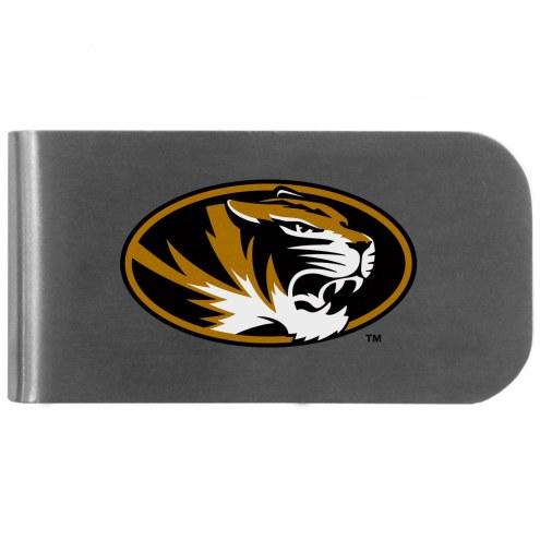 Missouri Tigers Logo Bottle Opener Money Clip