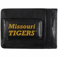 Missouri Tigers Logo Leather Cash and Cardholder