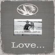 Missouri Tigers Love Picture Frame