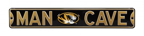 Missouri Tigers Man Cave Street Sign