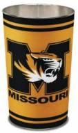 Missouri Tigers Metal Wastebasket
