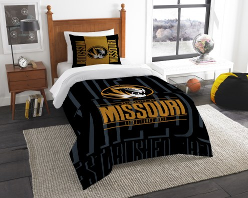 Missouri Tigers Modern Take Twin Comforter Set