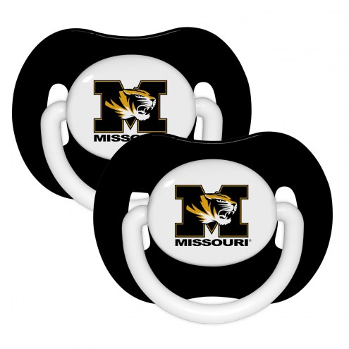 Missouri Tigers Baby Pacifier 2-Pack