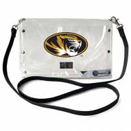Missouri Tigers Clear Envelope Purse