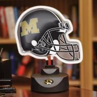 Missouri Tigers Neon Helmet Desk Lamp