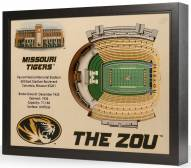 Missouri Tigers 25-Layer StadiumViews 3D Wall Art
