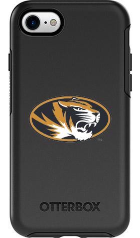 Missouri Tigers OtterBox iPhone 8/7 Symmetry Black Case