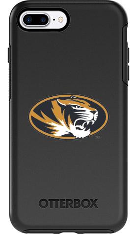 Missouri Tigers OtterBox iPhone 8 Plus/7 Plus Symmetry Black Case
