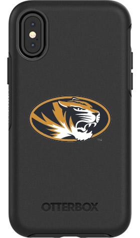 Missouri Tigers OtterBox iPhone X Symmetry Black Case