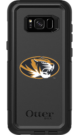 Missouri Tigers OtterBox Samsung Galaxy S8+ Commuter Black Case