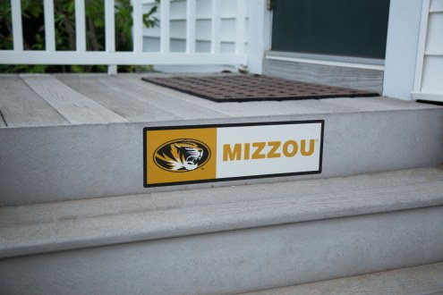 Missouri Tigers Outdoor Step Graphic