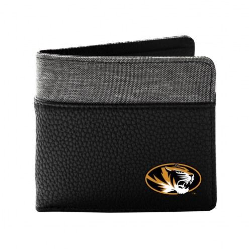 Missouri Tigers Pebble Bi-Fold Wallet