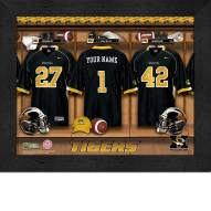 Missouri Tigers Personalized Locker Room 11 x 14 Framed Photograph