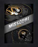 Missouri Tigers Framed 3D Wall Art